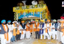 Nagar Kirtan dedicated to the 400th Prakash Gurpurab Shatabdi of Sri Guru tegh Bahadur Sahib