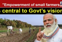 We have to expand India's Agriculture sector into global market: PM Modi