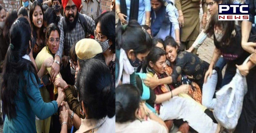 Delhi: ABVP Members Attack Activist Nodeep Kaur At Women's Day Event