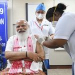 PM Modi takes first dose of Covid-19 vaccine at Delhi's AIIMS