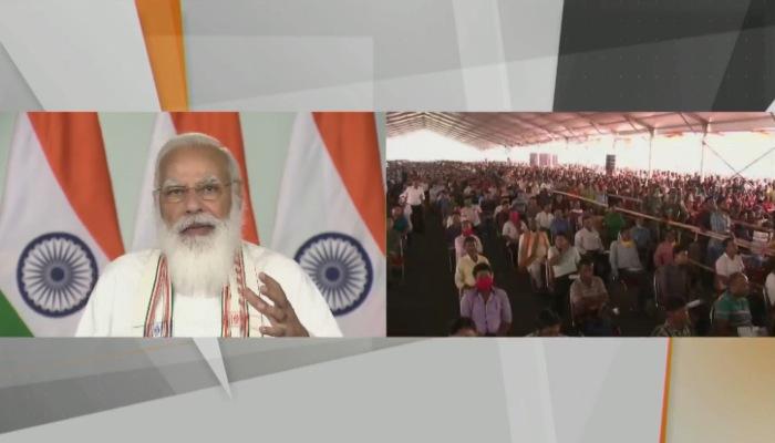 PM Modi inaugurates Maitri Setu