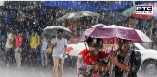 Rain in Punjab News । Rainfall, thunderstorms predicted in parts of Delhi today