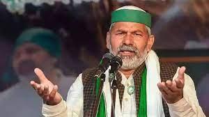 Farmers will sell their produce in the Parliament : Rakesh Tikait