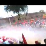 chandigarh police Water cannon on Akali workers gherao Punjab Vidhan Sabha