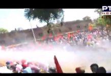 SAD marches towards Punjab Vidhan Sabha; police resort to water cannon