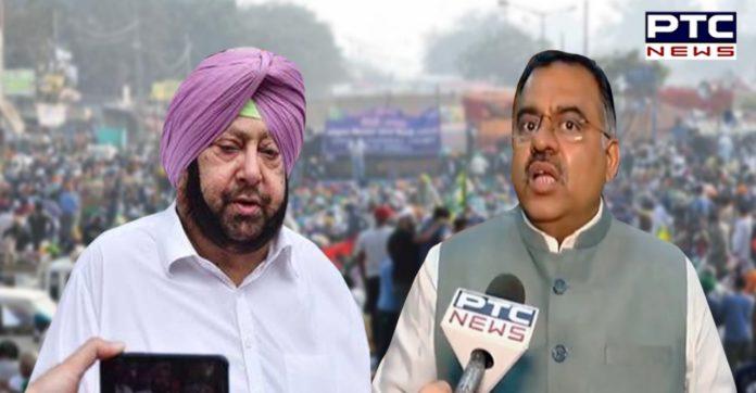 Captain Amarinder Singh blocking money for Punjab farmers: Tarun Chugh