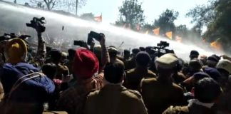 Akali Workers Protest Chandigarh