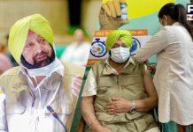 'Chardi Kalan': Captain Amarinder Singh after taking first shot of COVID-19 vaccine