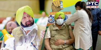 'Chardi Kalan': Captain Amarinder Singh after taking first shot of COVID-19 vaccine