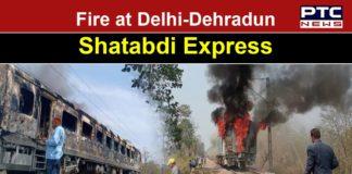 Delhi-Dehradun Shatabdi Express catches fire, passengers safe