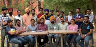 Nine student organizations in Punjab