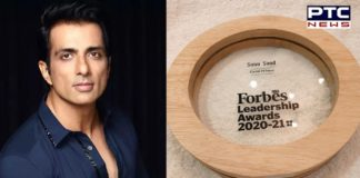 Forbes leadership award 2021 goes to 'Covid-19 Hero' Sonu Sood
