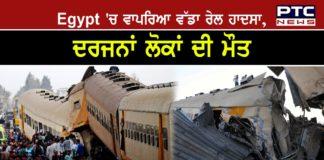 Egypt train crash kills