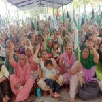 Women leaders to lead farmers' protests today Women's Day in barnala