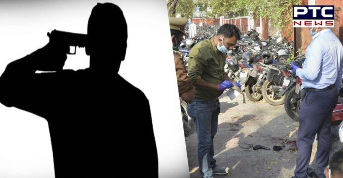 Sub-inspector shoots self outside UP Assembly, dies