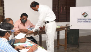 Assembly elections 2021 : Voting underway in 475 seats in Tamil Nadu, Kerala, Assam, Bengal, Puducherry