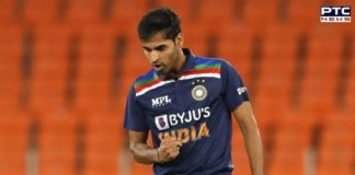 Bhuvneshwar Kumar named ICC Player of the Month for March 2021