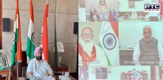 Captain Amarinder urges modi to clear Rs. 937 Cr projects for 400th prakash purab of guru tegh bahadur ji