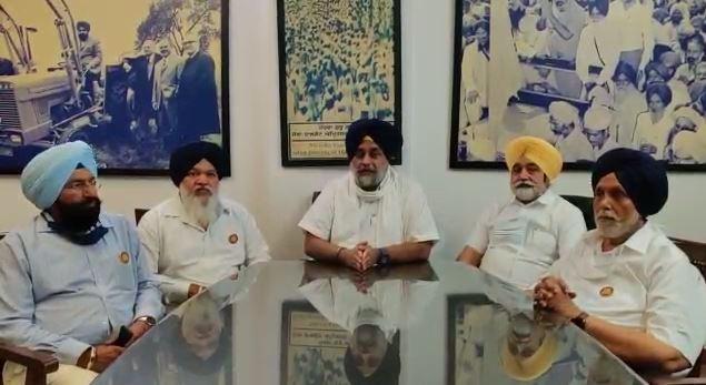 Shiromani Akali Dal Prez Sukhbir Singh Badal announced Janmeja Singh Sekhon as SAD candidate from Zira ahead of Punjab Assembly Elections 2022.