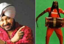 """IPL 2021: Chris Gayle does Daler Mehndi style, """"Tunak Tunak Tun"""""""