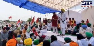 Farmers block KMP Expressway, warns government of intensifying protest