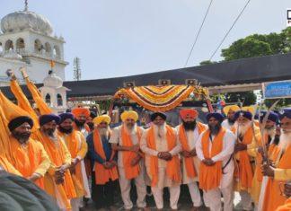 Nagar Kirtan Gurudwara Sahib Nauvi Patshahi , Jind dedicated to 400th prakash purab