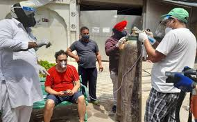 Oxygen Langar' Started at Sri Guru Singh Sabha Gurdwara in Ghaziabad's Indirapuram To COVID-19 Patients