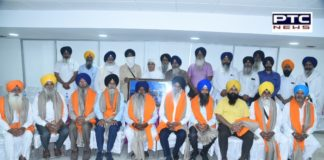 Retired SGPC employees honored under the Welfare Fund Scheme