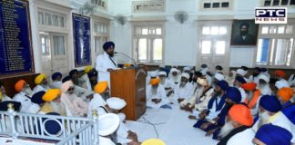 400th Anniversary of Guru Tegh Bahadur Sahib: Metting with All Sikh Sects to Commemorate Centenary Celebrations
