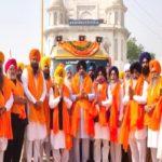Nagar Kirtan Gurdwara Sri Rakab Ganj Sahib Dedicated To 400th Prakash Purab Departs For Next Stage From Delhi