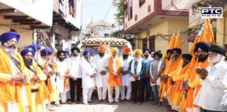 Nagar Kirtan reached Delhi dedicated to the 400th Prakash Purab of Sri Guru Tegh Bhadur Sahib Ji
