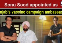 Sonu Sood becomes Punjab's Covid-19 vaccine campaign ambassador