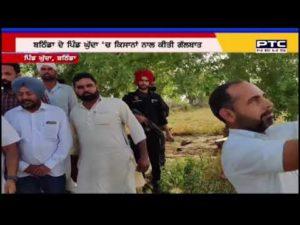 Sukhbir Singh Badal reviews damage crop