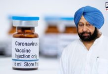 Punjab CM urges Centre to send fresh supplies of COVID-19 vaccine soon