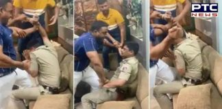 Delhi Police personnel allegedly thrashed by gym owner [VIDEO]