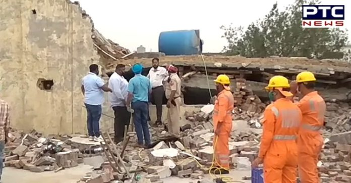 Ludhiana Factory Building Collapse: Several injured, feared trapped