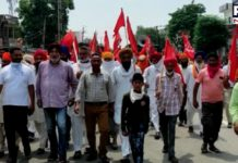 Farmers carry protest marches in Punjab against weekend lockdown