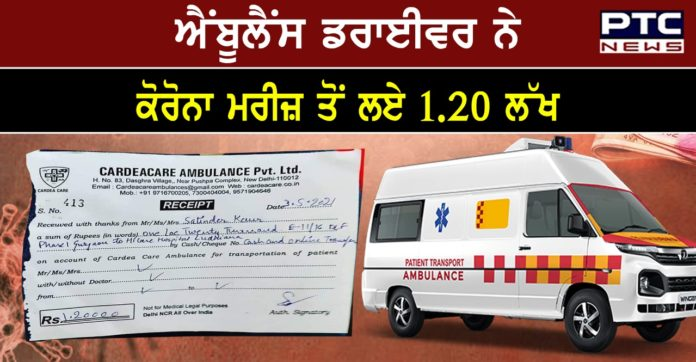 Delhi Police arrests owner of ambulance service company for charging Rs 1.20 lakh from patient