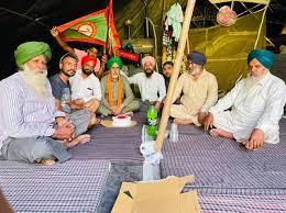 Farmer death of Jhandi Village in Patiala death in Kisan Morcha at Singhu border delhi