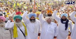 Farmers Protest today Against lockdown imposed by the Punjab government in Punjab today