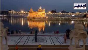 Sri Harmandir Sahib on the 400th birth anniversary of Guru Tegh Bahadur Sahib ji