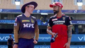 IPL 2021 : Today's clash between Kolkata Knight Riders and Royal Challengers Bangalore postponed