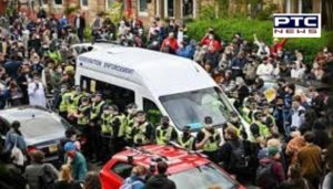 Two Indians Released after protest in Scotland for immigration offences in Britain