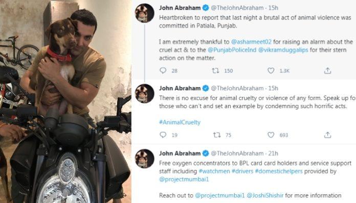 John Abraham-animal cruelty