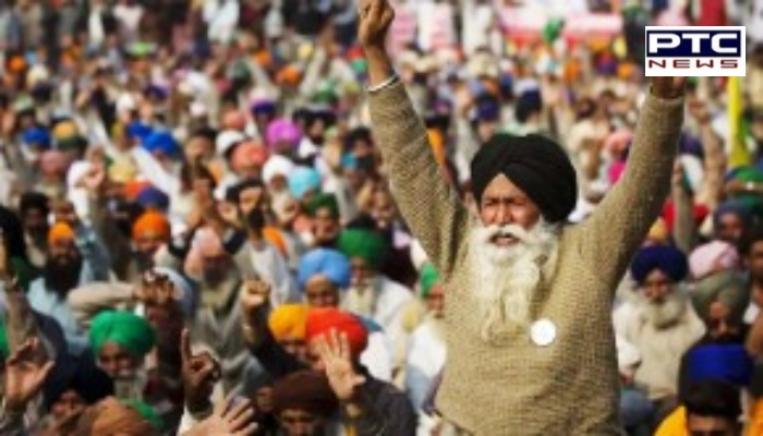 Kisan Andolan : Farmers celebrated Black Day against agricultural laws In India