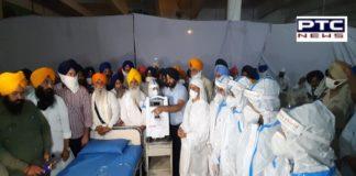 SGPC sets up temporary center for Coronavirus patients at Gurudwara Shri Manji Sahib, Alamgir