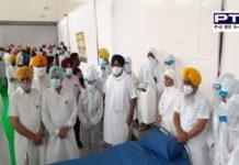 SGPC opened a Covid Care Center at Takht Sri Damdama Sahib During the Corona Epidemic