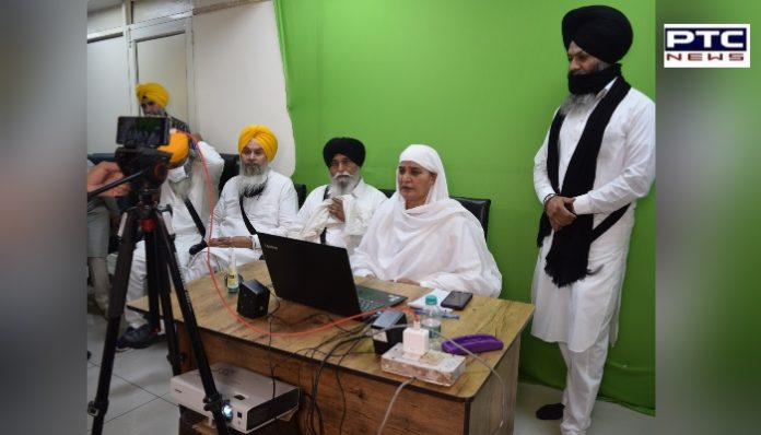 SGPC will promote the Dharam Parchar Lehar through the online method During COVID-19 pandemic