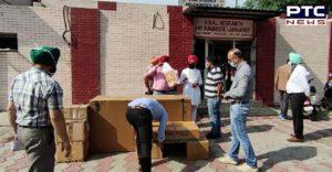 Sarbat Da Bhala Trust donates large quantity of medicines and freezers to Guru Nanak Dev Hospital Amritsar