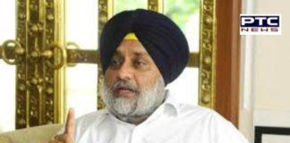 Sukhbir Singh Badal hoisted black flag at his residence on 'Black Day'